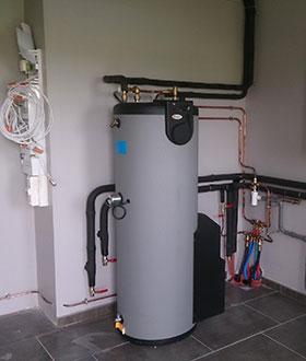 Soluthermie, installation et entretien de pompe à chaleur près de Brest